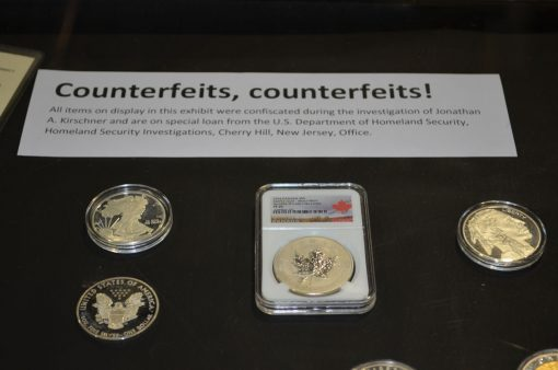 Examples of counterfeit bullion coins