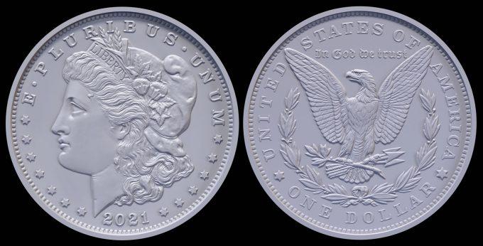 2021 Morgan Silver Dollar Designs