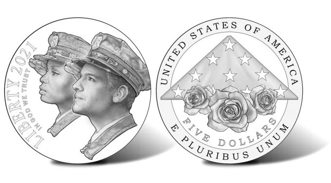 2021 National Law Enforcement Memorial and Museum Commemorative $5 Gold Coin Designs