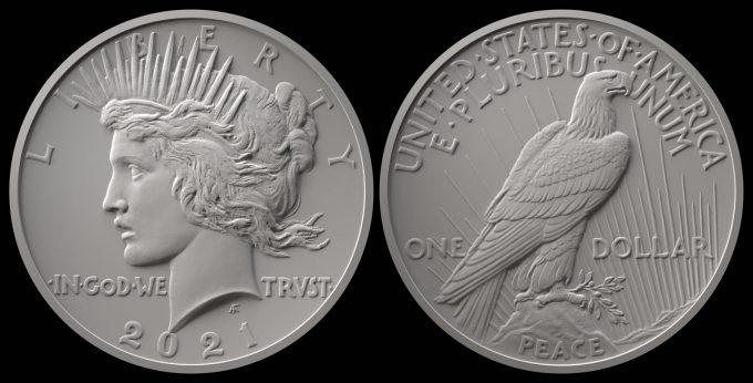 2021 Peace Silver Dollar Designs