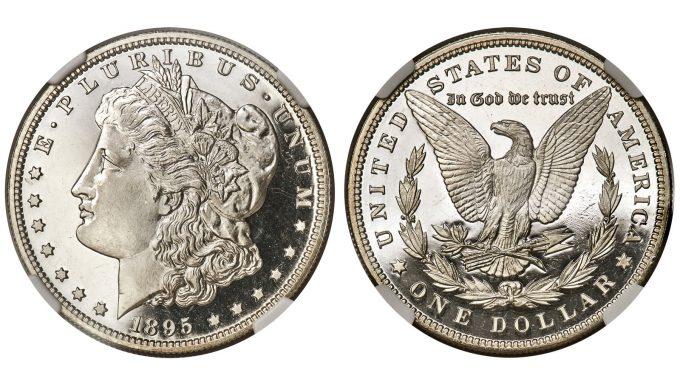 1895 Morgan Dollar, NGC, PF 67 Ultra Cameo