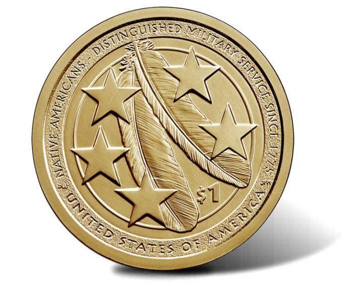 2021 Native American $1 Coin reverse