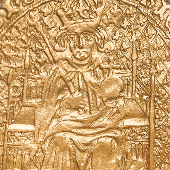 Henry VII Sovereign Close-up