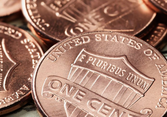 Lincoln cents - reverses shown