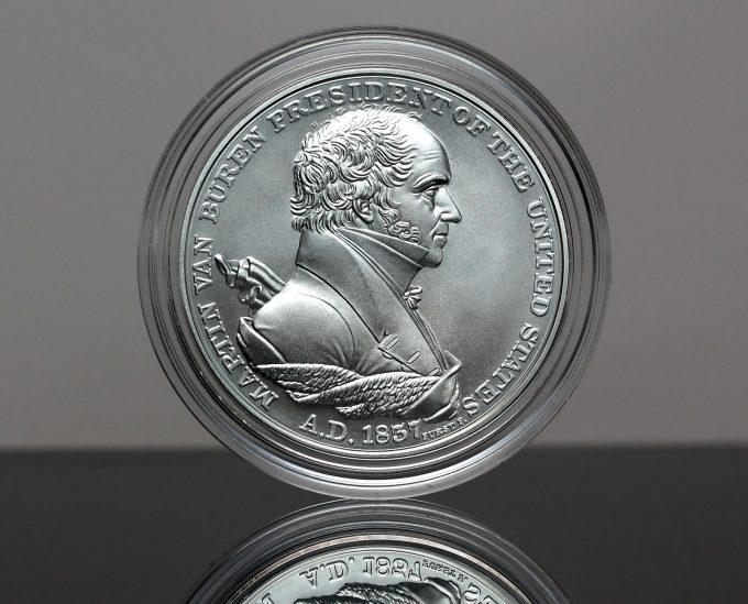 Martin Van Buren Presidential Silver Medal