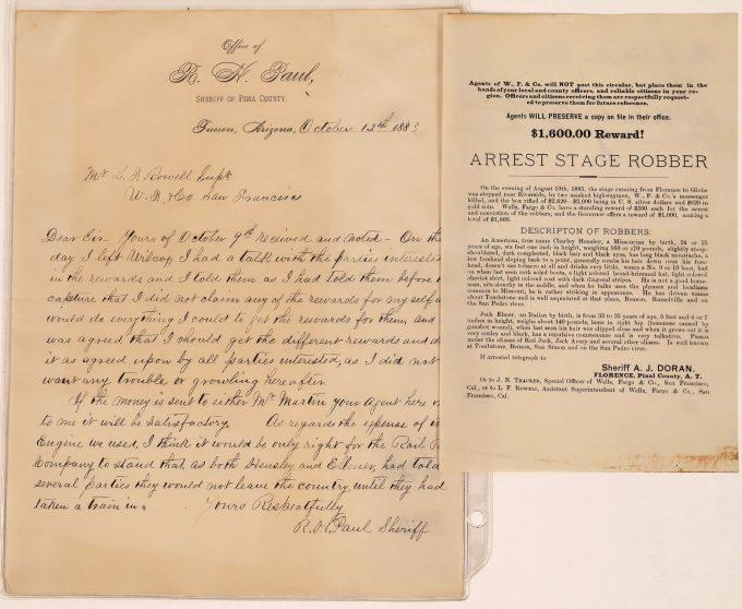 R.H. Paul letter