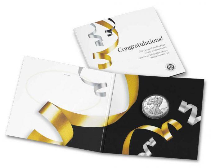 US Mint 2021 Congratulations Set
