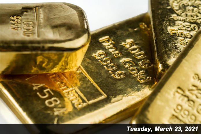 Gold prices lost $13 on Tuesday