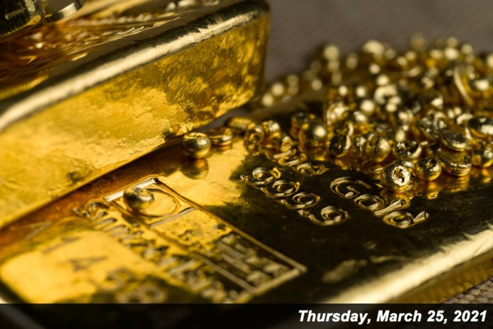 Gold prices lost $8.10 on Thursday