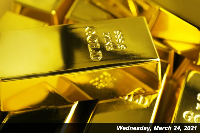 Gold prices climbed 0.5%