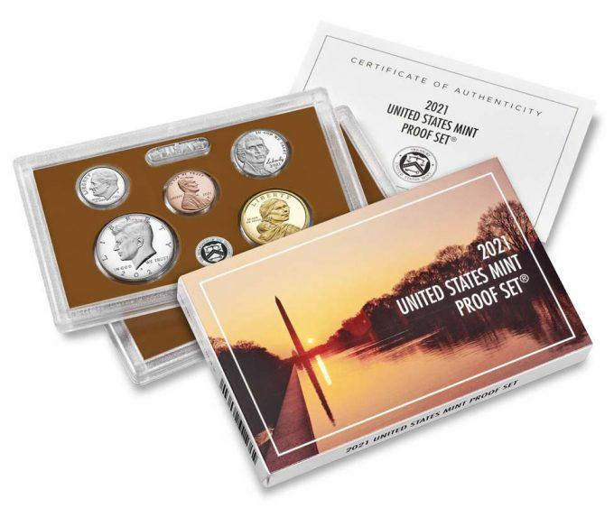 US Mint 2021 Proof Set product images