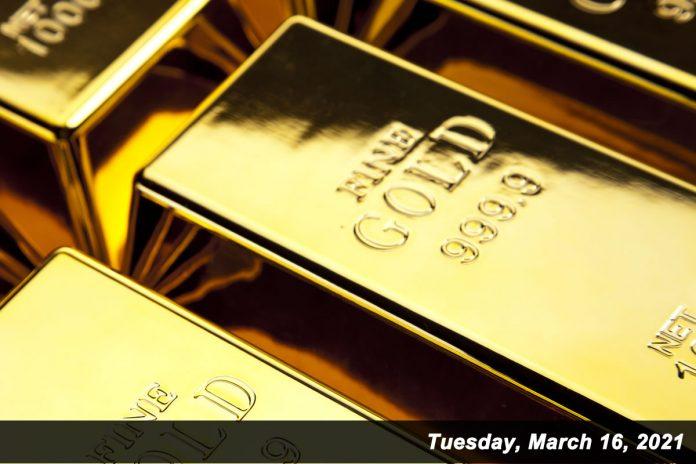 fine gold 999.9 March 16,2021