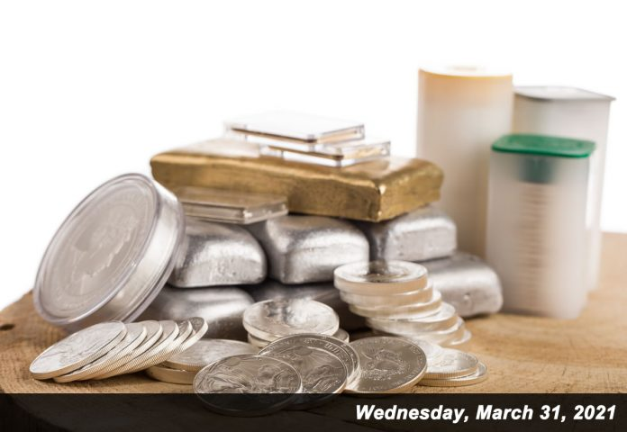 The U.S. Mint in March sold more than 3.3 million American Silver Eagles