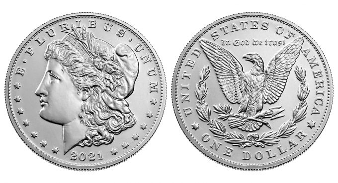 2021 Morgan Silver Dollar