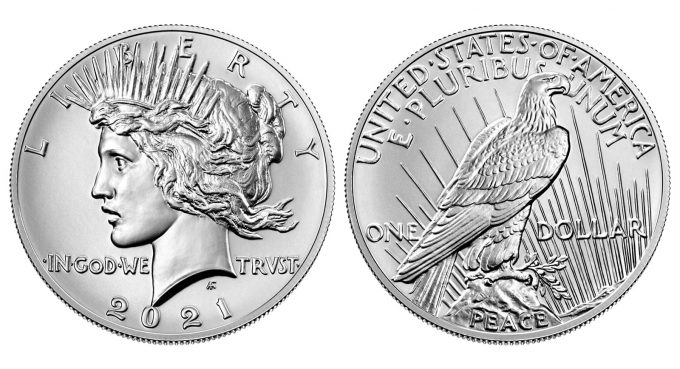 2021 Peace Silver Dollar