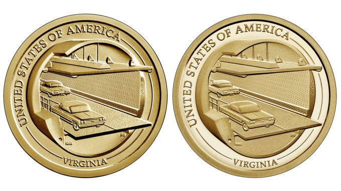 2021 Virginia American Innovation Dollar, Uncirculated and Proof