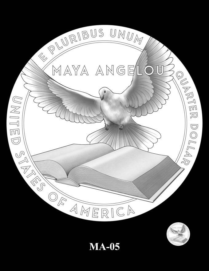 2022 Maya Angelou Quarter Candidate Design MA-05