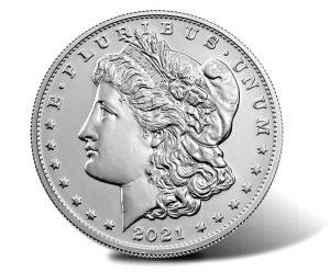 2021 Morgan Silver Dollar - Obverse