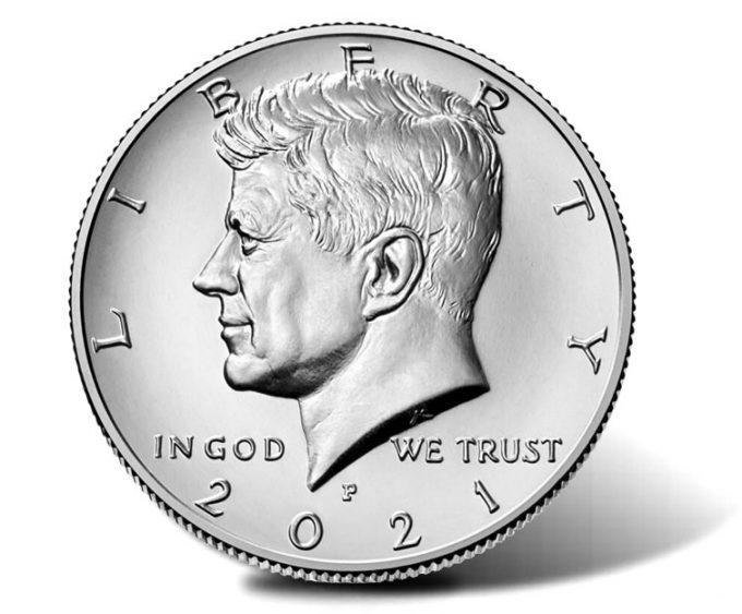 2021-P Kennedy Half Dollar-obverse