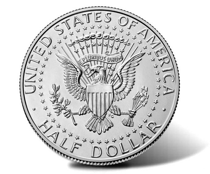 2021-P Kennedy Half Dollar-reverse