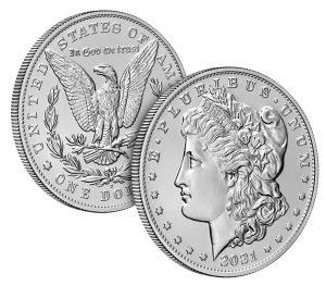 Mint images 2021-D Morgan Silver Dollar