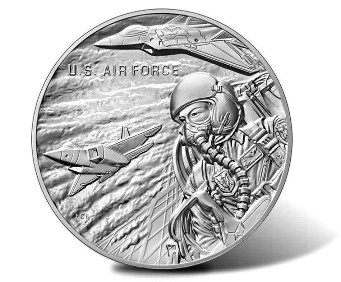 U.S. Air Force Silver Medal - obverse