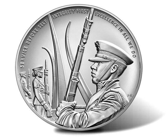 U.S. Air Force Silver Medal - reverse
