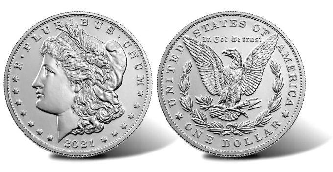 2021-D Morgan Silver Dollar