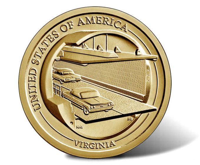 2021 Virginia American Innovation Dollar Reverse