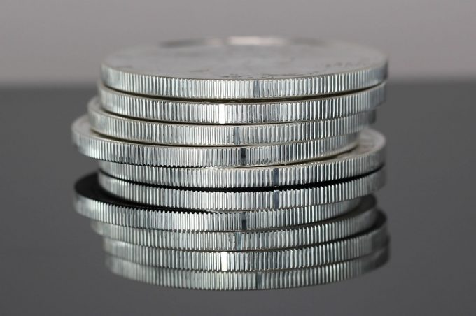 Edges of Type 2, 2021 American Silver Eagle bullion coins