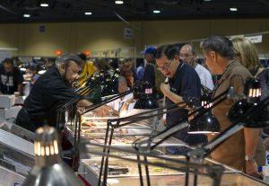 bourse scene at Long Beach Expo