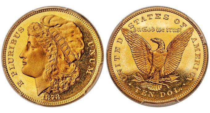 1878 $10 Ten Dollars