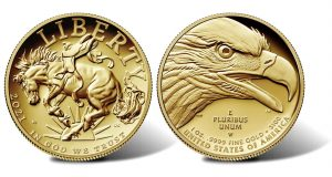 2021-W $100 Proof American Liberty Gold Coin