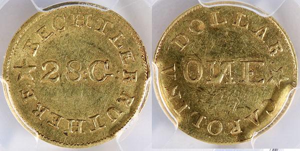 Bechtler gold dollar