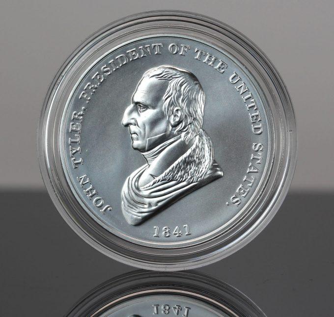 John Tyler Presidential Silver Medal