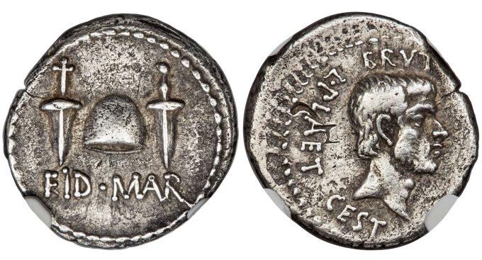 Marcus Junius Brutus, Assassin of Caesar and Imperator