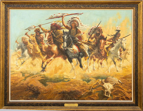 Sitting Bull painting