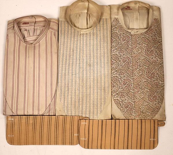 Victorian men's shirts
