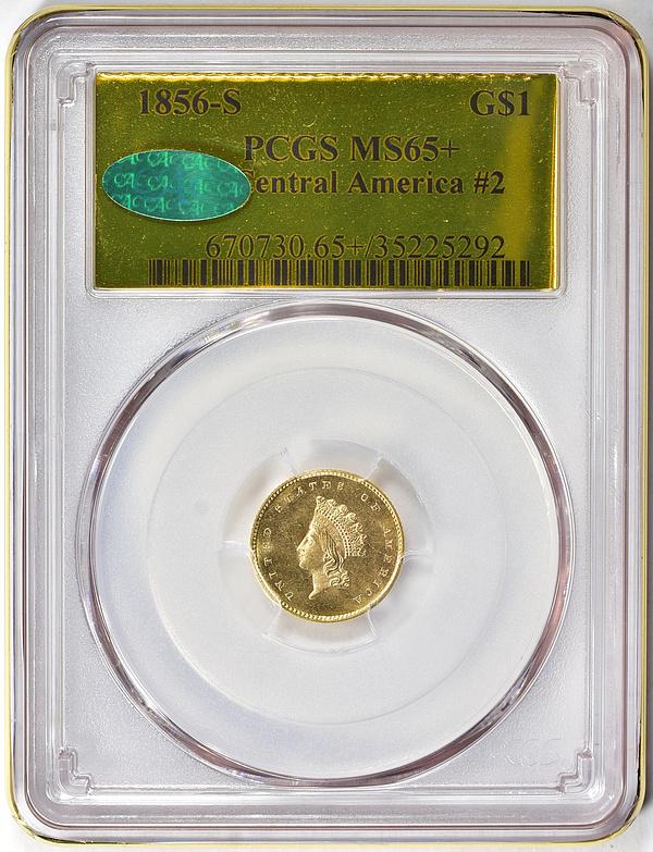 1856-S Indian Princess Gold Dollar