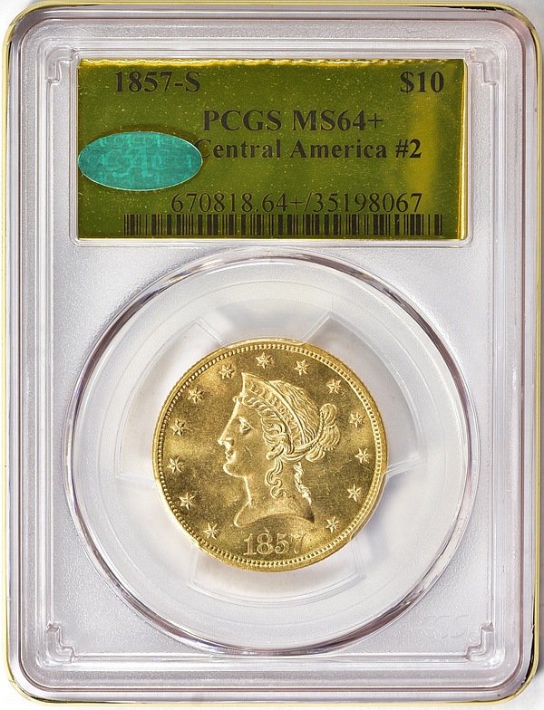 1857-S Liberty Gold Eagle