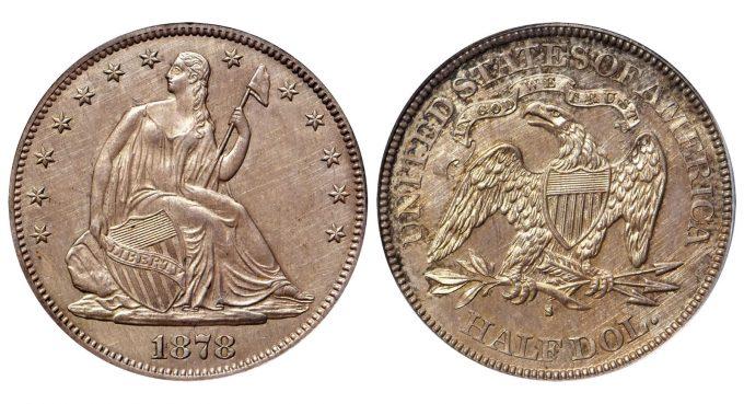 1878-S Liberty Seated Half Dollar