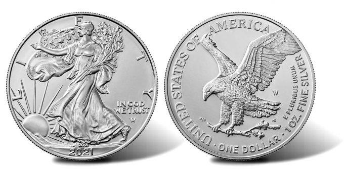 2021-W Uncirculated American Silver Eagle