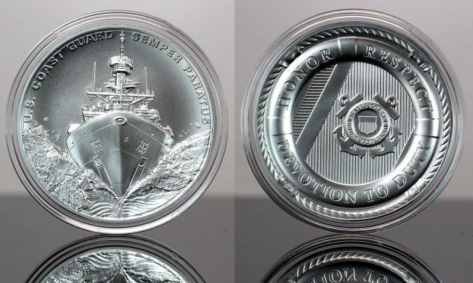 CoinNews photo U.S. Coast Guard Silver Medal