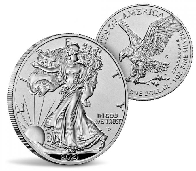 Mint images 2021-S Reverse Proof American Silver Eagle