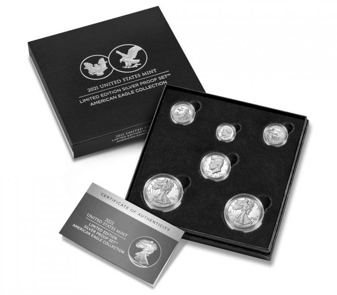 U.S. Mint Product images 2021 Limited Edition Silver Proof Set