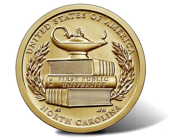 2021 North Carolina American Innovation Dollar Reverse