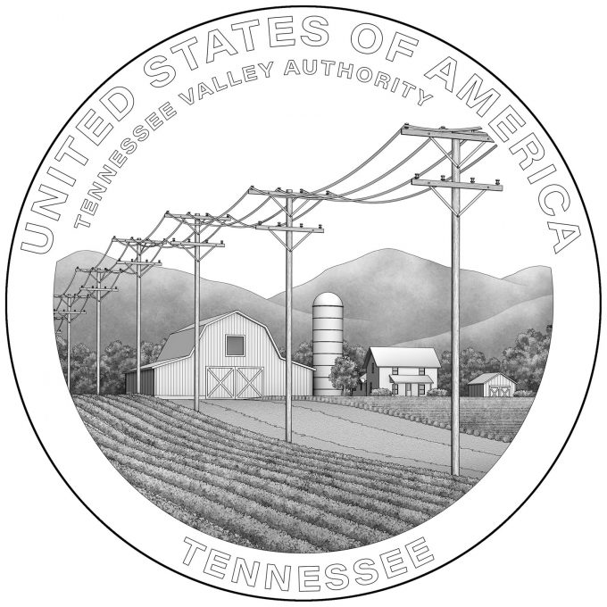 2022 American Innovation Dollar Design for Tennessee