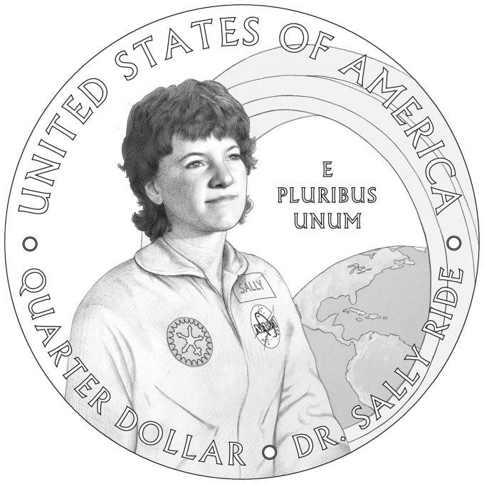 2022 American Women Quarter for Dr. Sally Ride
