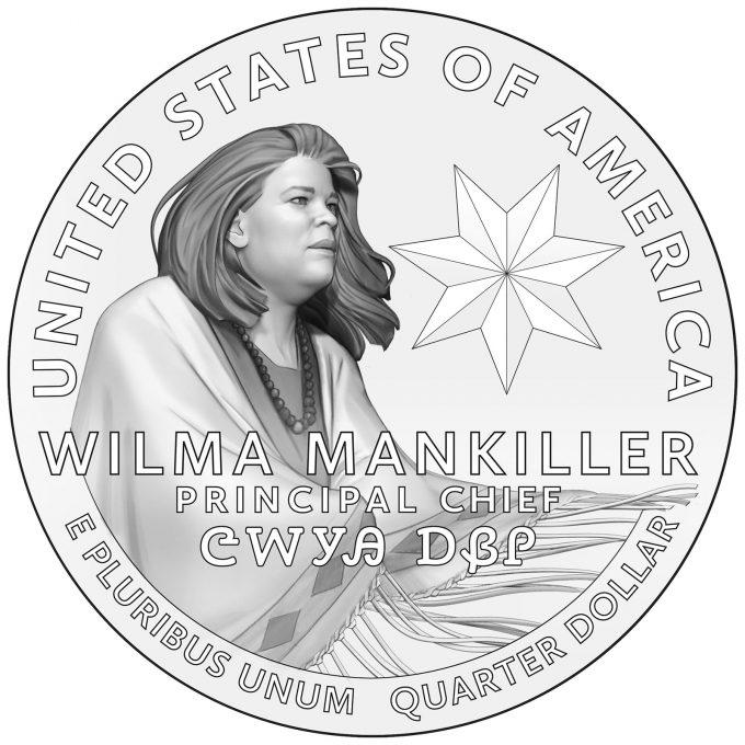 2022 American Women Quarter for Wilma Mankiller